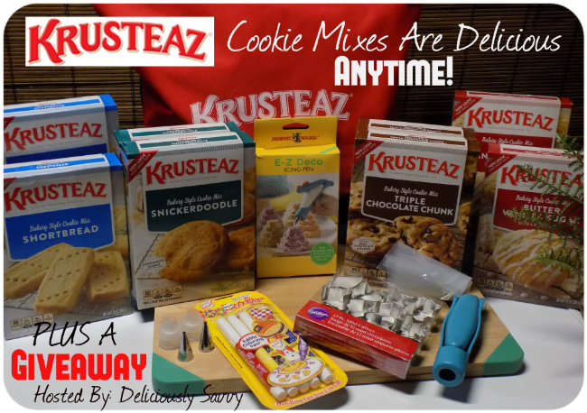 Enter The Krusteaz Cookie Mixes Are Delicious Anytime Giveaway. Ends 1/14.