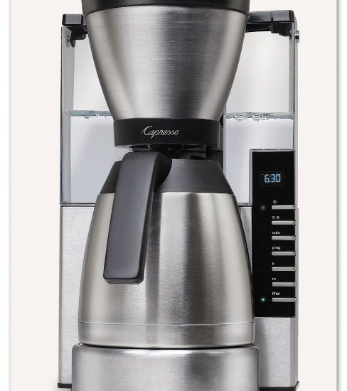 Capresso Grind And Brew Coffee Maker Reviews : My Savvy Review of The Capresso MT900 10-Cup Rapid Brew Coffee Maker @CapressoTweets ...