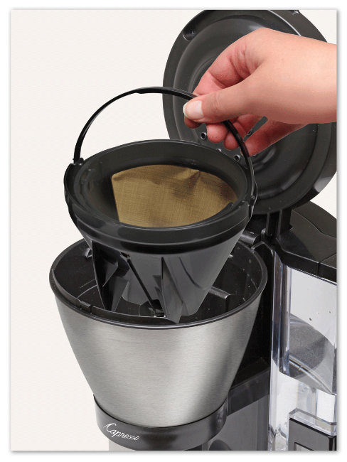 Capresso Coffee Maker Paper Filter : My Savvy Review of The Capresso MT900 10-Cup Rapid Brew Coffee Maker @CapressoTweets ...