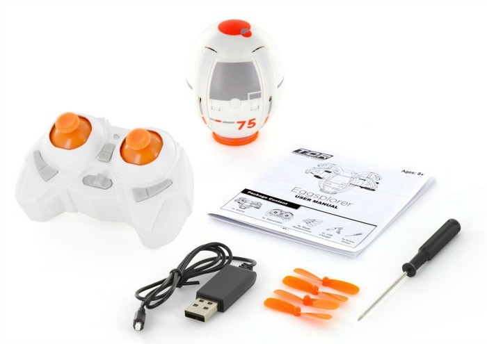 RC Quadcopter Egg Drone
