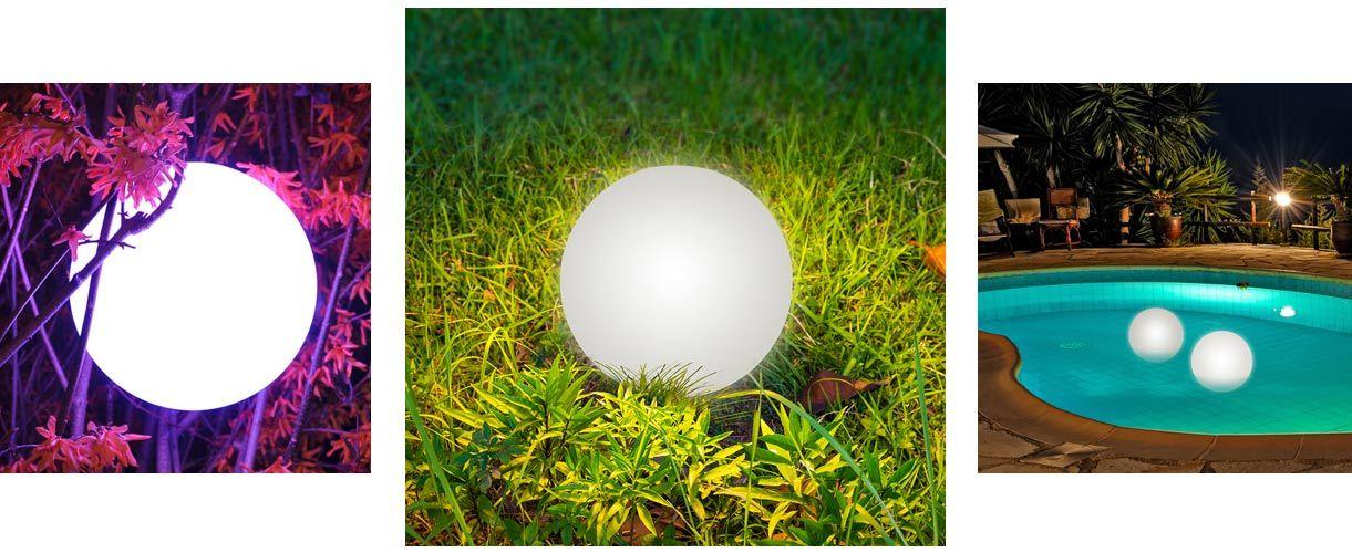 LOFTEK 8-inch LED Multi-Use Color Changing Ball Light