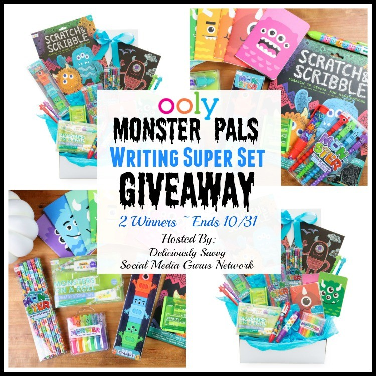 OOLY Monster Pals Writing Supplies