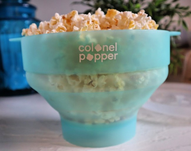Colonel Popper Popcorn Bowl