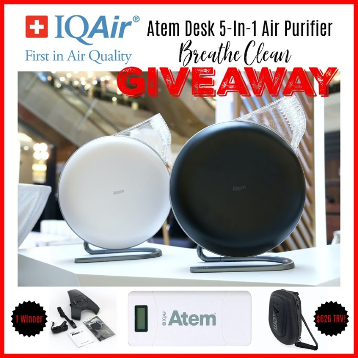 Atem Desk 5-in-1 Air Purifier