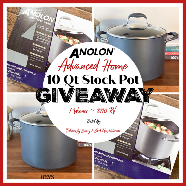 Anolon Advanced Home 10Qt Stockpot Giveaway